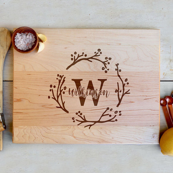 "Custom Maple Cutting Board ""Wilkinson"""