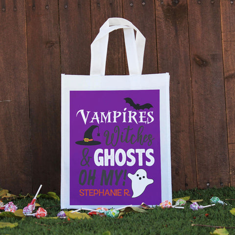 Trick or Treat Bag - Vampires, Witches & Ghosts Oh My, Stephanie R.