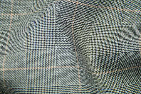 Endeavour Synergy LT GREY TRAM PLAID W/ SALMON CHECK