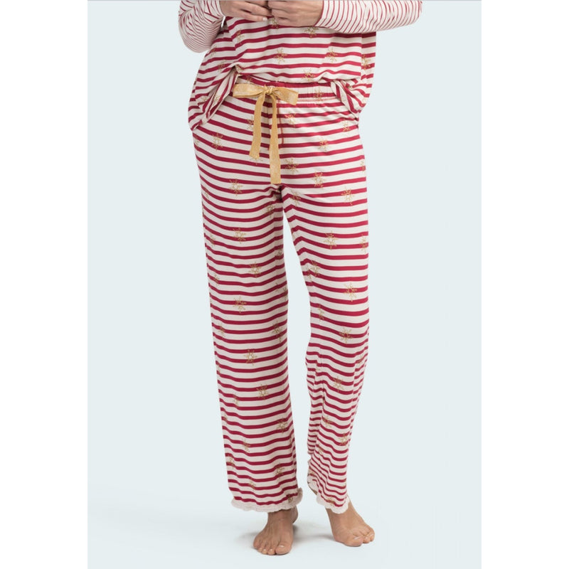 Hatley Snowflake Stripes Pajama Bottoms