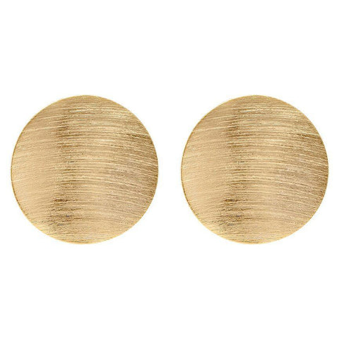 Shelia Fajl Irene Hoops Burnished Gold