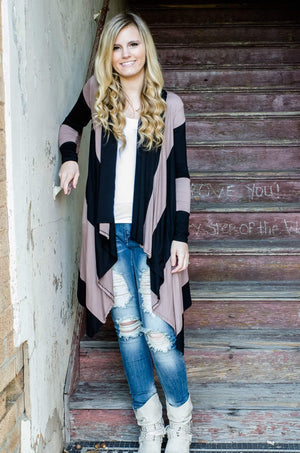 Dark Romance Long Cardigan-Top-Forever Fab Boutique