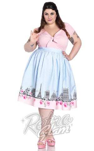 Hell Bunny Paname 50's Skirt Plus Size