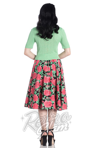 Hell Bunny Darcy 50's Skirt Back