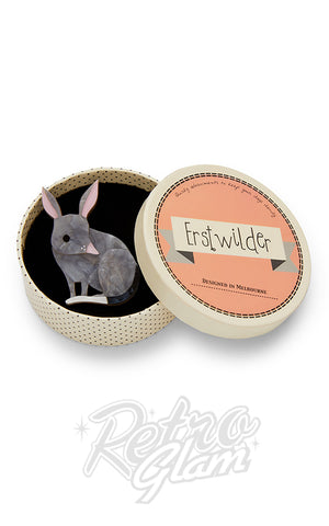 Erstwilder Bouncy Burrow Dweller Bilby brooch box
