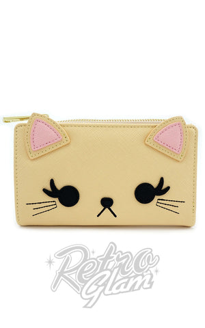Loungefly Cat with Eyelashes Wallet