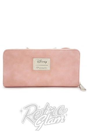 Loungefly Minnie Ears & Bow Pink Wallet back