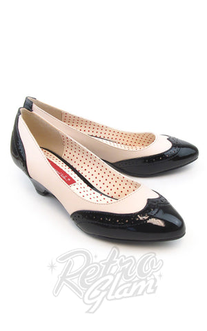 B.A.I.T Ida Shoes in Black Two Tone
