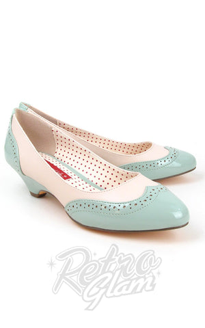 B.A.I.T Ida Shoes in Mint Green Two Tone
