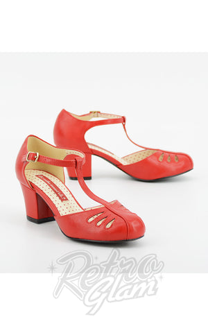B.A.I.T Robbie Shoes in Matte Red