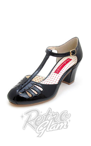 BAIT Robbie Shoes in Black Patent