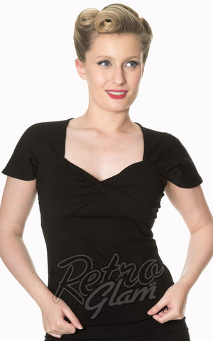 Banned She Who Dares Top in Black