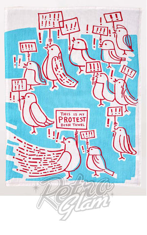 Blue Q Protest Dish Towel