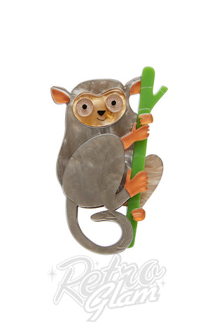 Erstwilder Eyes Wide Open Tarsier Brooch