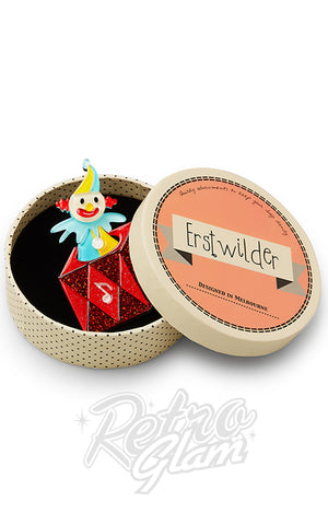 Erstwilder Cranky Jack Toy Brooch box