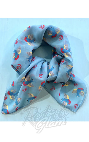Erstwilder Betty Jo Sparrow Scarf blue