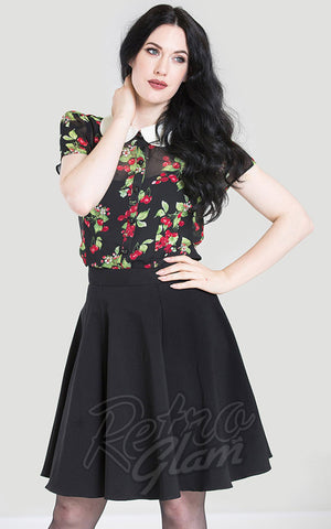 Hell Bunny Gabby Skirt black