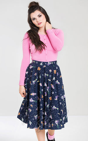 Hell Bunny Atomic Pleated Skirt
