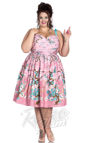 Hell Bunny Jenna Dress Curvy