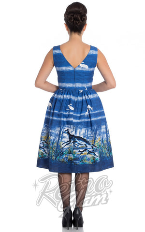 Hell Bunny Montana 50's Dress Back