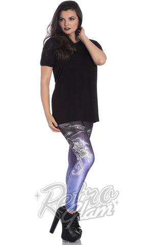 Hell Bunny Shadow Leggings