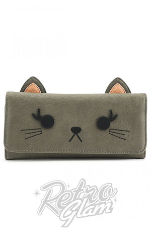 Loungefly Grey Cat Wallet