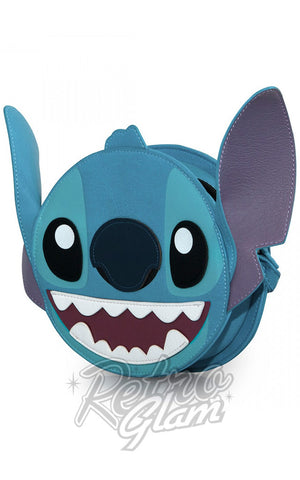 Loungefly Stitch Big Face Crossbody Bag