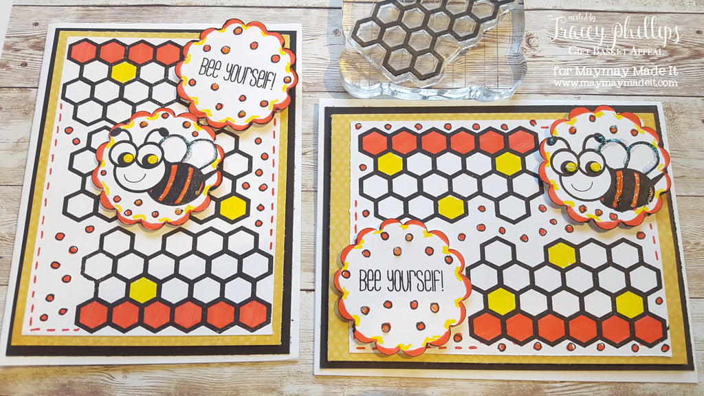 Bee Yourself Card | Layer It Up Challenge