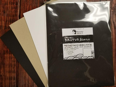 Premium Cardstock Trio by Brutus Monroe & Maymay Made It retail $9.99