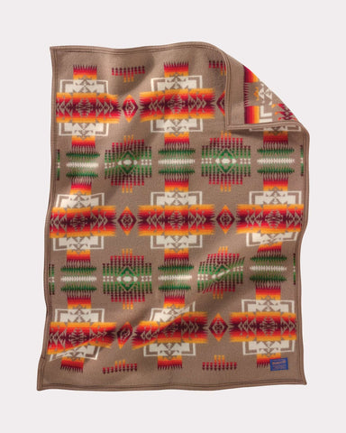 Chief Joseph Baby Blanket by Pendleton, Tan