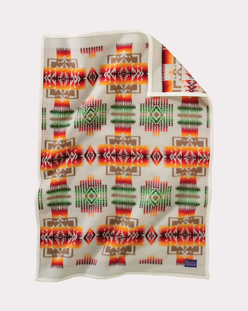 Chief Joseph Ivory Baby Blanket by Pendlton