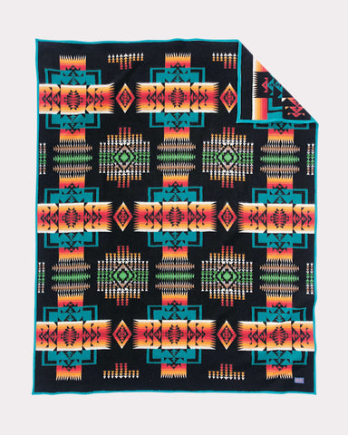Chief Joseph Blanket by Pendleton, Black