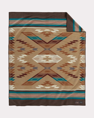 Roselyn Begay Weaver Series Blanket by Pendleton