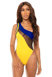 make a move monokini- yellow