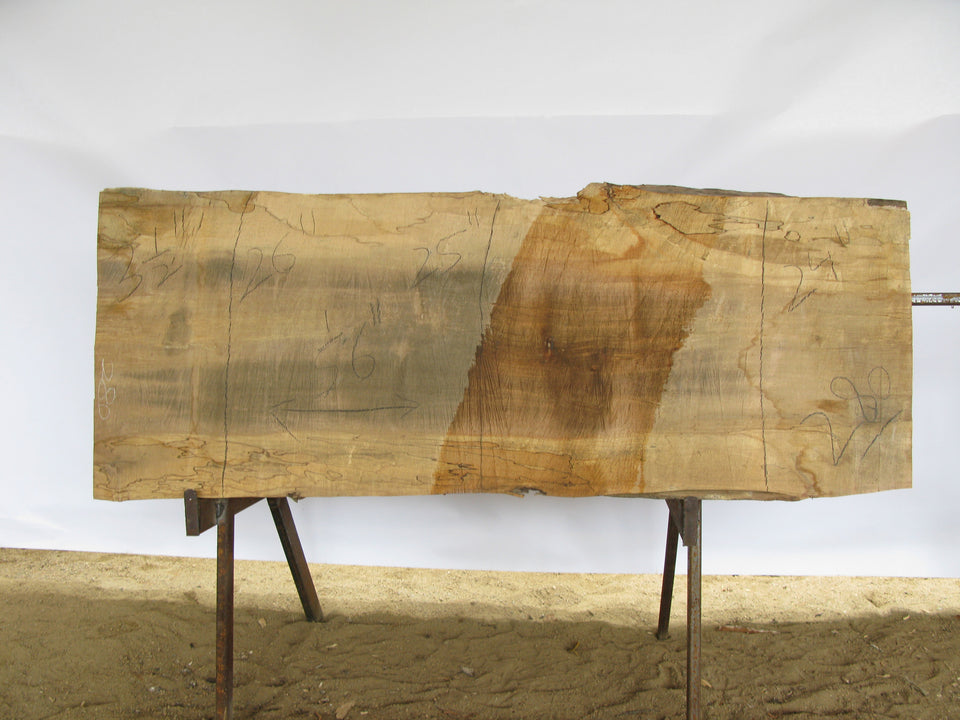 "Spalted Maple A Slab 3.5"" x 25"" x 5.5' SPM-280"