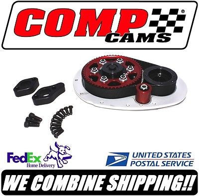 Comp Cams Small Block Chevy SBC Hi-Tech Race Belt Drive System with Idler #6500