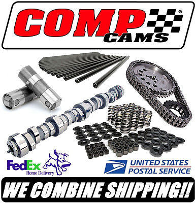 COMP Cams XFI Xtreme Truck GM 5.3/6.0L Complete Roller Cam Kit 208/212 554/558