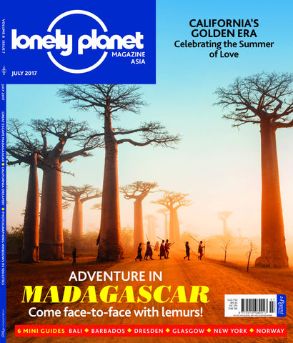 Lonely Planet JULY 2017