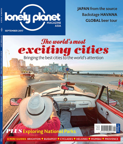 Lonely Planet September 2017