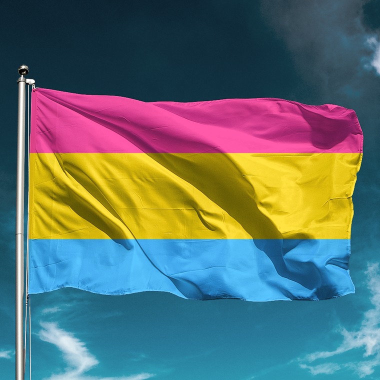 Pansexual flag for LGBT