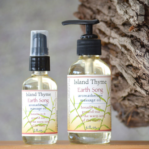 Earth Song Aromatherapy Massage Oil