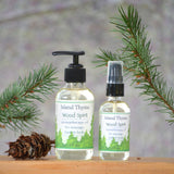 Wood Spirit Aromatherapy Massage Oil