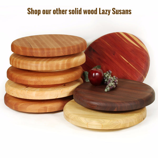 Small Lazy Susan in Maple