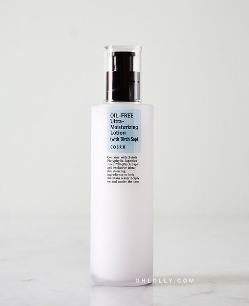 Cosrx Oil-Free Ultra-Moisturizing Lotion (with Birch Sap)