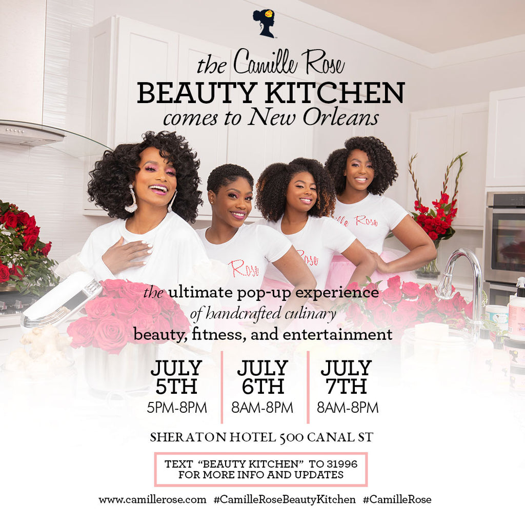 The Camille Rose Beauty Kitchen is coming to New Orleans