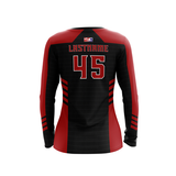 Saginaw Valley State Dodgeball LS Jersey