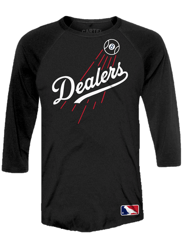 MLB Dealers 3/4 Sleeve