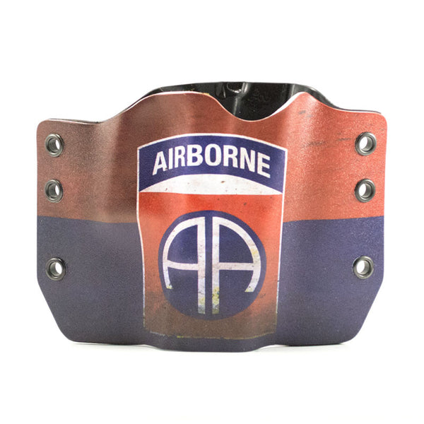 Airborne Emblem on Kydex Gun Holster