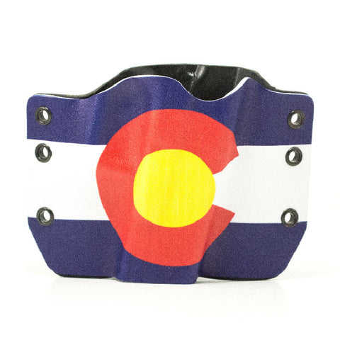 Image of Colorado Flag on Kydex Holster