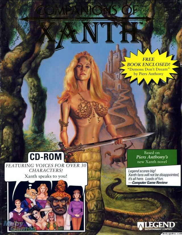 COMPANIONS OF XANTH PC GAME +1Clk Windows 10 8 7 Vista XP Install